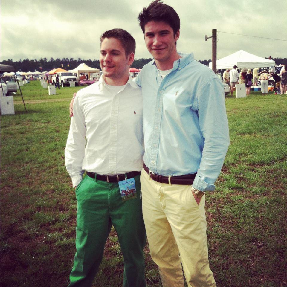 preppy green pants - Pi Pants